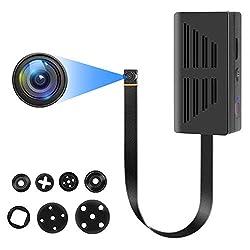 Mini Kamera, Full HD 1080P Mini überwachungskamera, Tragbare Kleine Sicherheitskamera mit bewegungserkennung und Videoaufzeichnung, Lange Akkulaufzeit Minikamera für Innen Aussen Nanny Cam