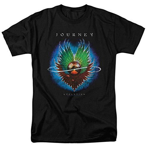 jjk Journey Evolution Album Steve Perry Band T Shirt & Stickers,Camisetas y Tops(X-Large)