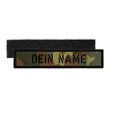 Copytec Patch Bundeswehr Namens-Klett-Schild Flecktarn Schablonen Schrift BW #32068
