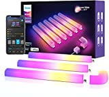 Govee Glide Wall Light, LED Light Bar für Gaming und Streaming, Multicolor Anpassbar, Music Sync...