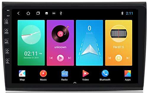 WYFWYT Android 9.0 Navegador GPS para Coche Car Stereo para Fiat Bravo 2007-2012 Autoradio 9 Pulgadas Pantalla Táctil Soporte Enlace de Espejo Bluetooth WiFi Carplay Reproductores Mp5,WiFi:2g+32g