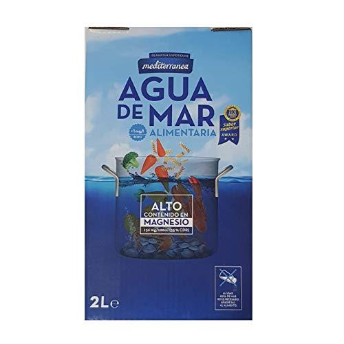 Agua de Mar alimentaria mediterránea 2L