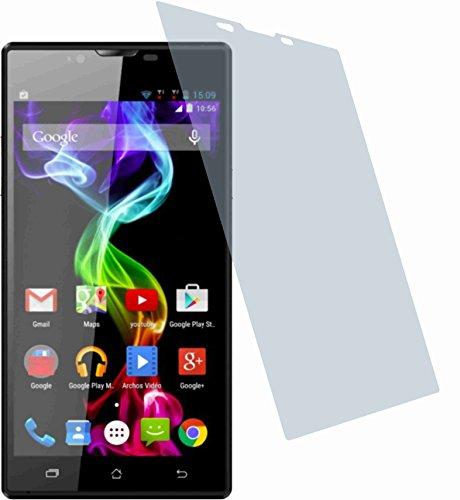 4ProTec I Gehärtete Bildschirmschutzfolie für Archos 55 Platinum (2 Stück) Displayschutzfolie kristallklar Schutzhülle Bildschirmschutz Bildschirmfolie Folie