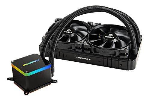 liquid cpu coolers 2 Enermax LIQTECH II 240 Intel/AMD Liquid CPU Cooler Black 500+ TDP (ELC-LTTO240-TBP)