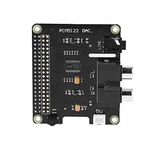 Eboxer Scheda di espansione Raspberry Pi Raspberry Pi HiFi DAC + HD Audio Scheda di espansione a 24 Bit PCM5122 per Raspberry Pi 3 Modello B / 2B / B + / A + / Raspberry Pi Zero W
