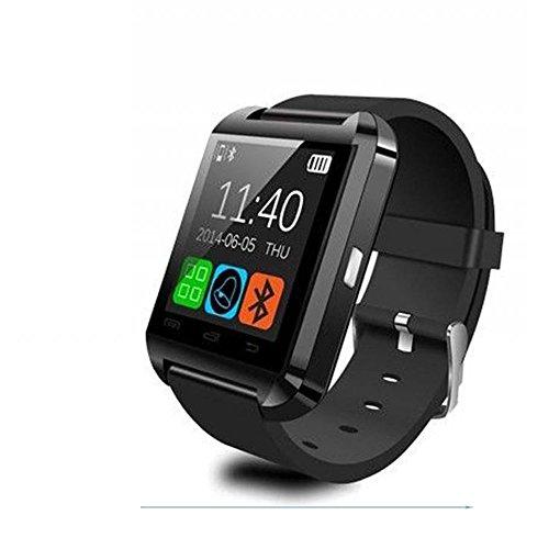 U8 - SmartWatch Bluetooth V3.0 (EDR, pantalla táctil, Android) Smartphone Samsung LG sistema Android IOScolor negro