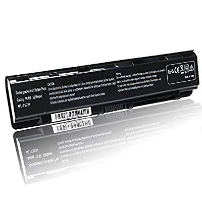 New PA5024U-1BRS Replacement Laptop Battery Compatible with Toshiba Satellite C55 C55-A C55T C55D-A C855 C855D L855 L855D L875 P855 P875 S855 S855D Series Fits PA5026U-1BRS PA5109U-1BRS PABAS272