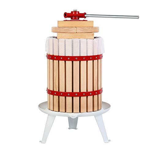 Yunge Fruit Press 18L – Fruit Press   Fruit Crusher   Wine Press   Cross Beam Fruit Press   Grape...