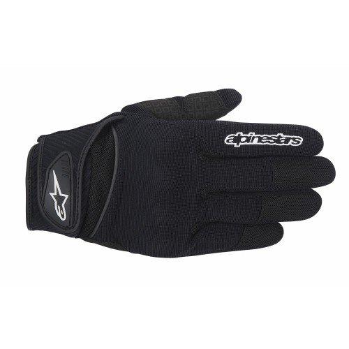 Alpinestars Men's Spartan Motorcycle Riding Glove, Black, 2X-Large