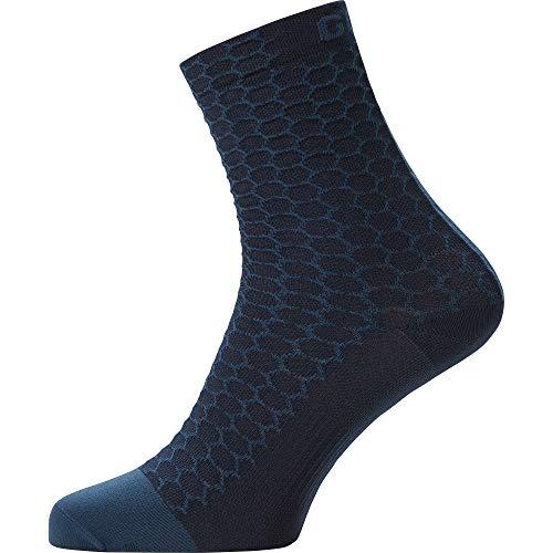 Gore Wear C3 Calcetines Heptagon, Unisex Adulto, Azul Orbital, 38-40