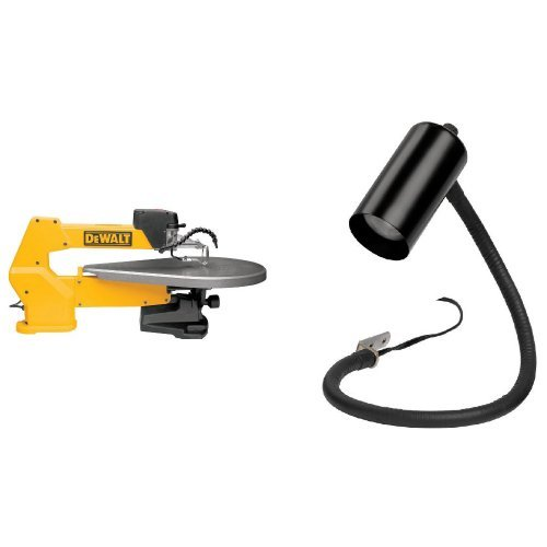 DEWALT DW788 1.3 Amp 20-Inch Variable-Speed Scroll Saw with Scroll Saw Work Light