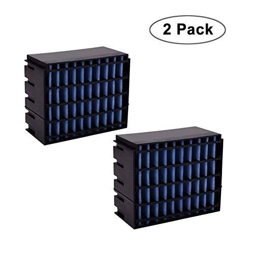 N/Y 2er Pack Air Ersatzfilter, Filter Ersatz, Cooler Filter, Mini Luftkühler Ventilator Air Mini Cooler Mobil Klimageräte Ersatzteile