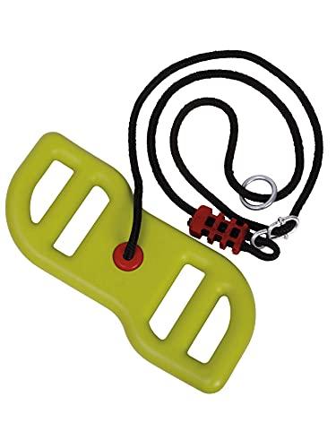 BIG - Activity Swing - 3-in-1 Multifunktions-Schaukel, mit verstellbarem Seil und Sicherheitsaufhängung, mit breiten Handgriffen, Schaukeln für Kinder ab 5 Jahren