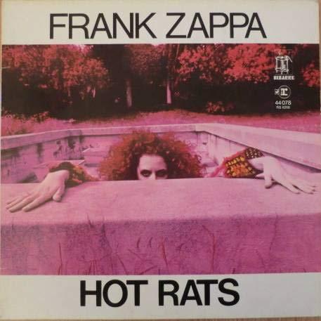 Frank Zappa - Hot Rats - Reprise Records - 44 078, Reprise Records - REP 44078, Bizarre Records - RS 6356