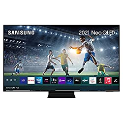 Quantum Matrix Technology Quantum HDR 2000 powered by HDR10+ Ultra Viewing Angle with Anti Reflection Screen Smart TV powered by Tizen Dimensions excluding stand WxHxD (mm) 1227 x 706 x 27