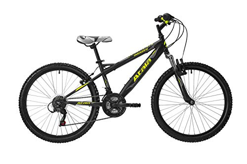 Atala Bici Mountain Bike MTB Bimbo Invader Ruota 24' 18V Colore Nero/Giallo 2019