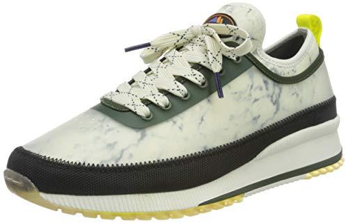 SCOTCH & SODA FOOTWEAR (SCPGH) Vivex, Zapatillas Hombre, Verde Marmol, 41 EU