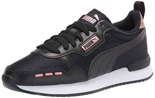 PUMA R78 - Zapatillas deportivas para mujer, Negro (Puma Black-puma Black-rose Oro), 40 EU