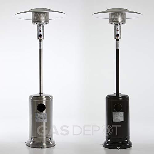 Glow Warm 13kw Gas Patio Heater (Stainless Steel)