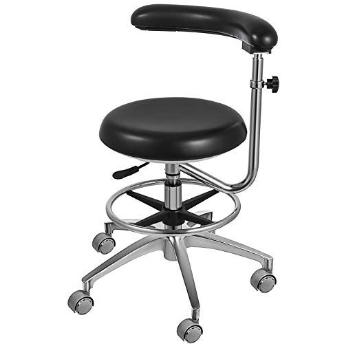 LOVSHARE Medical Dental Stool Dentist Chair with 360 Degree...