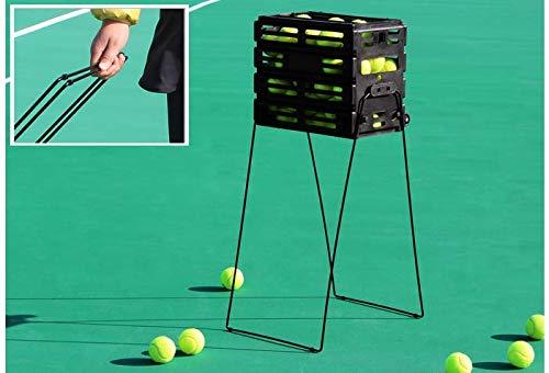 Tenis Rack, puede sostener 72 pelotas de tenis / Colección de la bola del tubo, ligero y desmontable Tenis Estante para recoger el Basket / tenis de la raqueta de tenis (Sin la pelota de tenis)