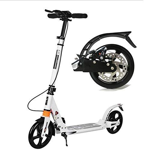 WJJ Patinetes para Niños Unisex Adult Kick Scooter 200mm Big Wheels, Scooters...