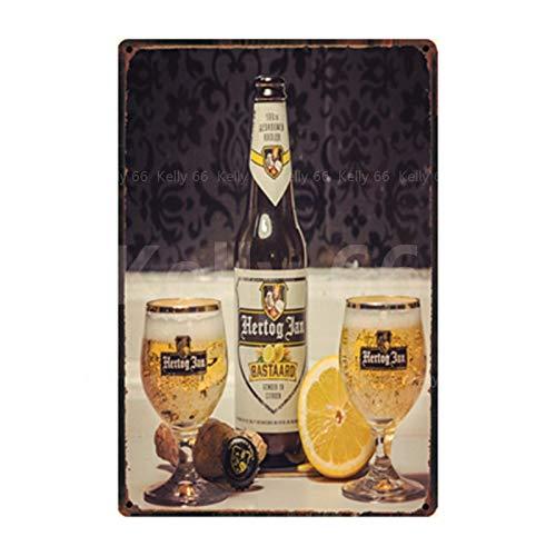 Cartel de Chapa Cartel de Chapa Decoración del hogar Bar Arte de la Pared Pintura 20x30cm SL-12809