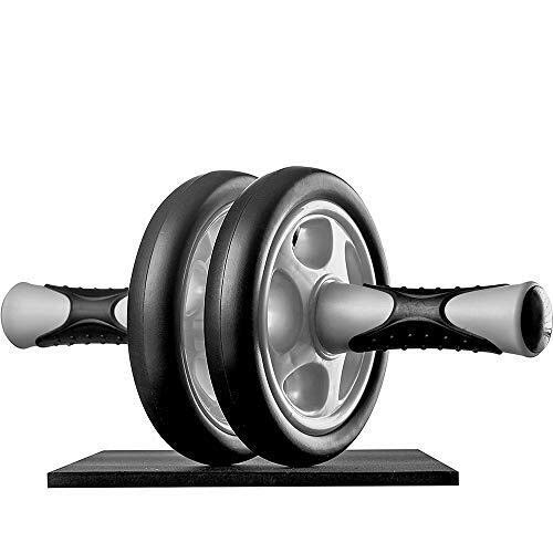 AB Roller Exercise Wheel AB Roller Abdominal Trainer Handy Workout Device for Build Abdominal Muscle An Home Exercise Roller Rubber Body Fitness Easy Assembly W
