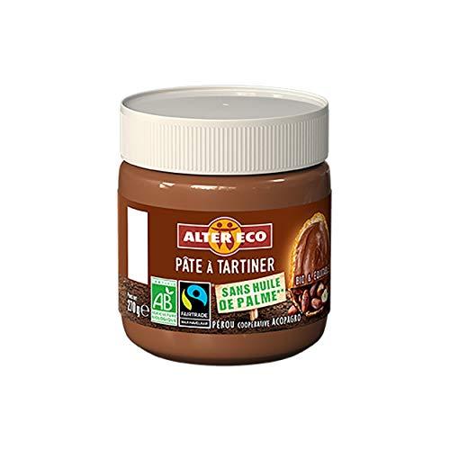 Alter Eco Pâte à Tartiner Noisettes Sans Huile de Palme Bio & Équitable - 270 g