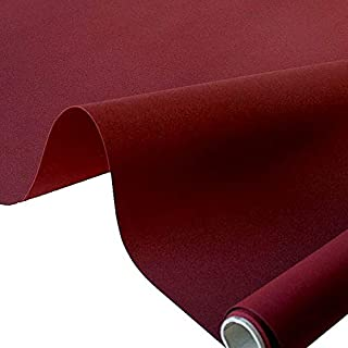 TOLKO Markisen-Stoffe einfarbig WASSERDICHT UV-beständig Meterware am Stück Bordeaux
