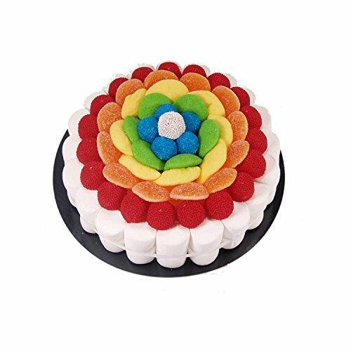 Tarta de golosinas - Rainbow 22 cm