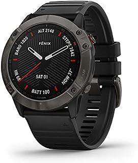 جارمن ساعة ذكية شريط سيليكون متوافقة مع اندرويد و اي او اس,اسود - 010-02157-11