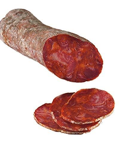 Chorizo Ibérico de Bellota -La Alberca, Salamanca- 19,60€. ENTREGA EN 24/72 HORAS.Peso aproximado 500 gramos. What Jamón.