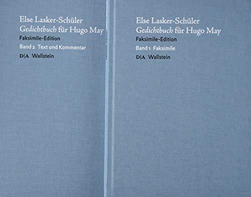 Gedichtbuch für Hugo May: Faksimile Edition Band 1 + 2