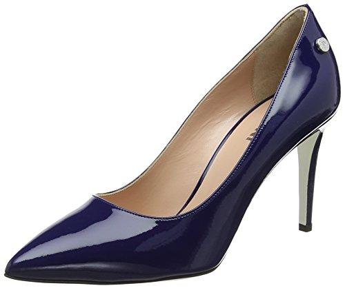 Pollini Damen W.Shoe Pumps, Blau (Oceano 753), 38 EU