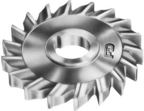 F&D Tool Company 10718-A5306 Side Milling Cutter, High Speed Steel, 3