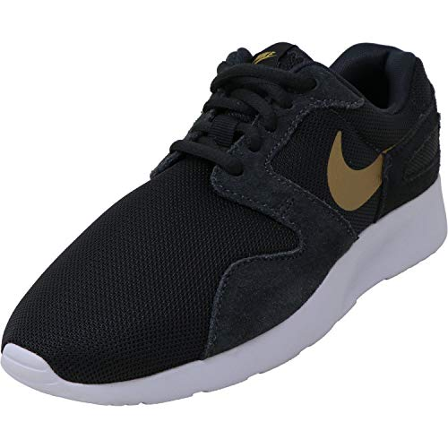 Nike Damen WMNS Kaishi Fitnessschuhe, Anthrazitschwarz/Metallgold/weiß/schwarz, 38 EU