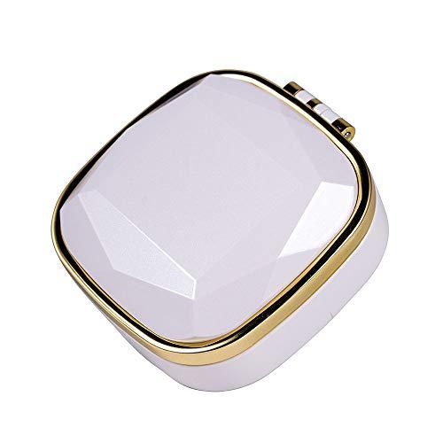 TL Luftbefeuchter, Wasserzähler-Sprüher Nano-Spray Luftbefeuchter Schönheit Instrument Make-Up Spiegel Compact Netter Minibefeuchter,Weiß