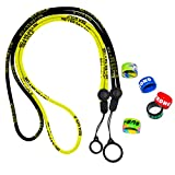 2 Anti-Loss Lanyards, 5 Colorful Personalized Silicone Protective Sleeves (Containing Various Interesting Proverbs), Suitable for JUUL&Pod System Vape Pens