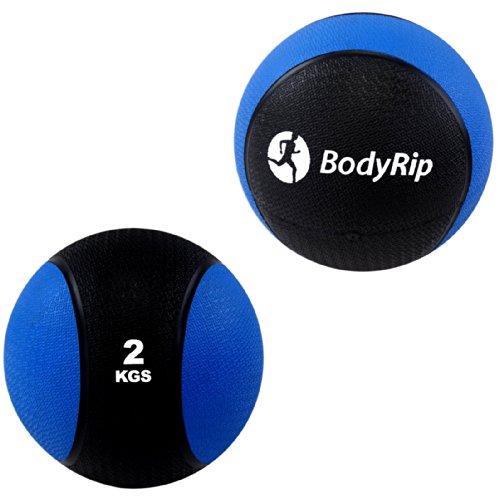 BodyRip DY-GB-052 - Palla Medica da 2 kg per Fitness, Arti...