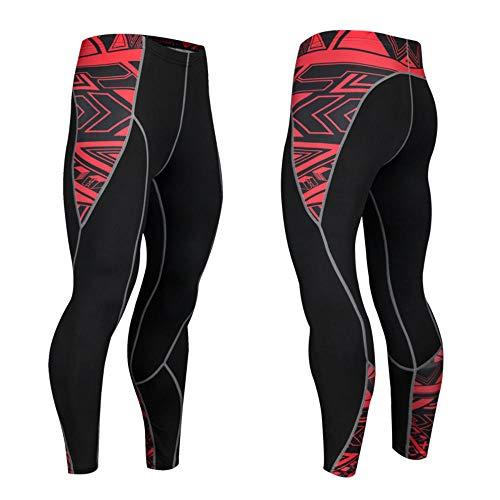 Pantalones de Deporte Deportivos Impresos para Hombres Pantalones de Entrenamiento elásticos Transpirables y elásticos de Secado rápido Pantalones de Entrenamiento para Correr 1 Pieza