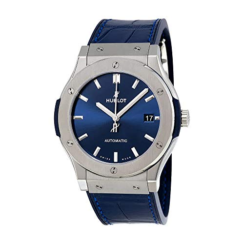 Hublot Reloj de hombre automático 45mm caja de titanio 511.NX.7170.LR