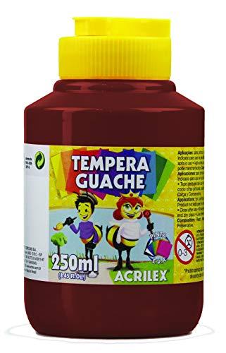 Tempera Guache 250 ml, Acrilex, 020250531, Marrom