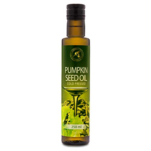 Pumpkin Seed Oil 250ml - Cold Pressed - 100% Pure for Cooking