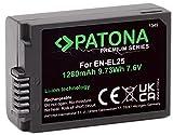 PATONA Premiun EN-EL25 - Compatible con Nikon Z50 Z fc
