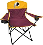 RAWLINGS NFL XL Lineman Tailgate and Camping Folding Chair, Maroon, Gold, One-Size (Renewed)