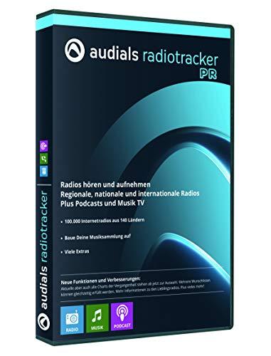 Audials Radiotracker 2018 Premium DVD Windows 10, 8, Windows 7