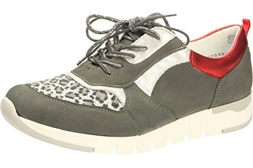 Waldläufer 908H02-400829 - Sneaker bequem Grau Gr. 5