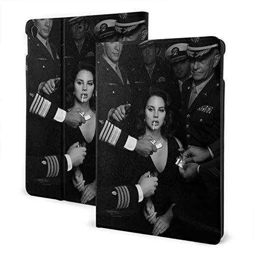 aka lizzy Grant popular la-na del re-y álbumes Born to Die funda para iPad con aire a prueba de golpes 1/2/3 generación de soporte de negocios Folio cubierta inteligente arte