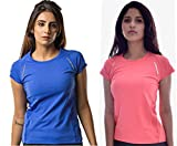 Athlete Women's Roundneck Python Tee for Exercise/Jogging Tanktop/Running/Printed Sports Vests/Cycling/Workout/Yoga